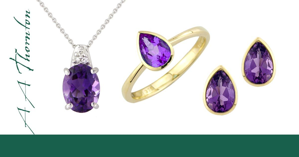 Amethyst on Sally Thornton Jewellery blog from Thorntons Jewellers Kettering Northampton