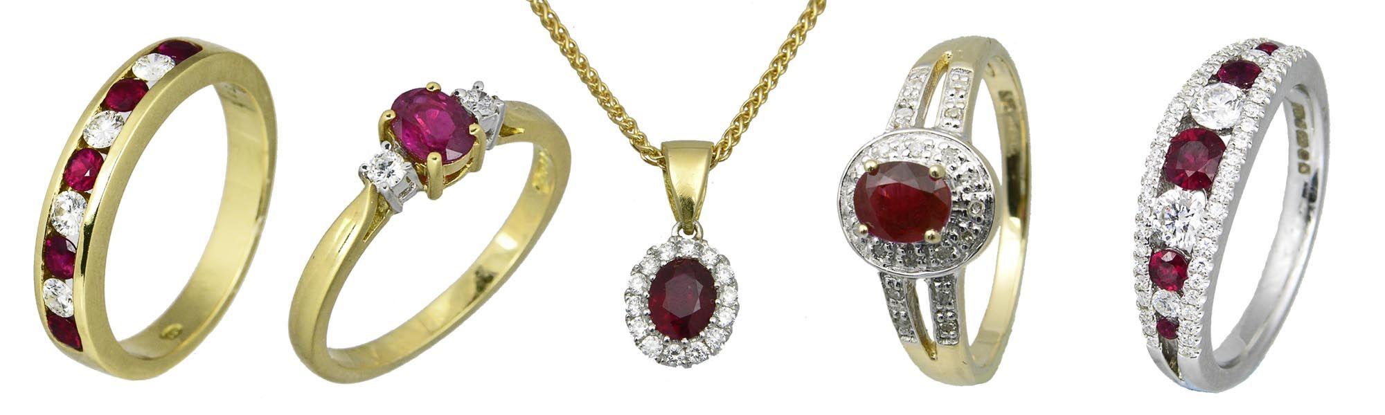 Sally Thornton Jewellery Blog on Ruby from Thorntons Jewellers Kettering Northampton