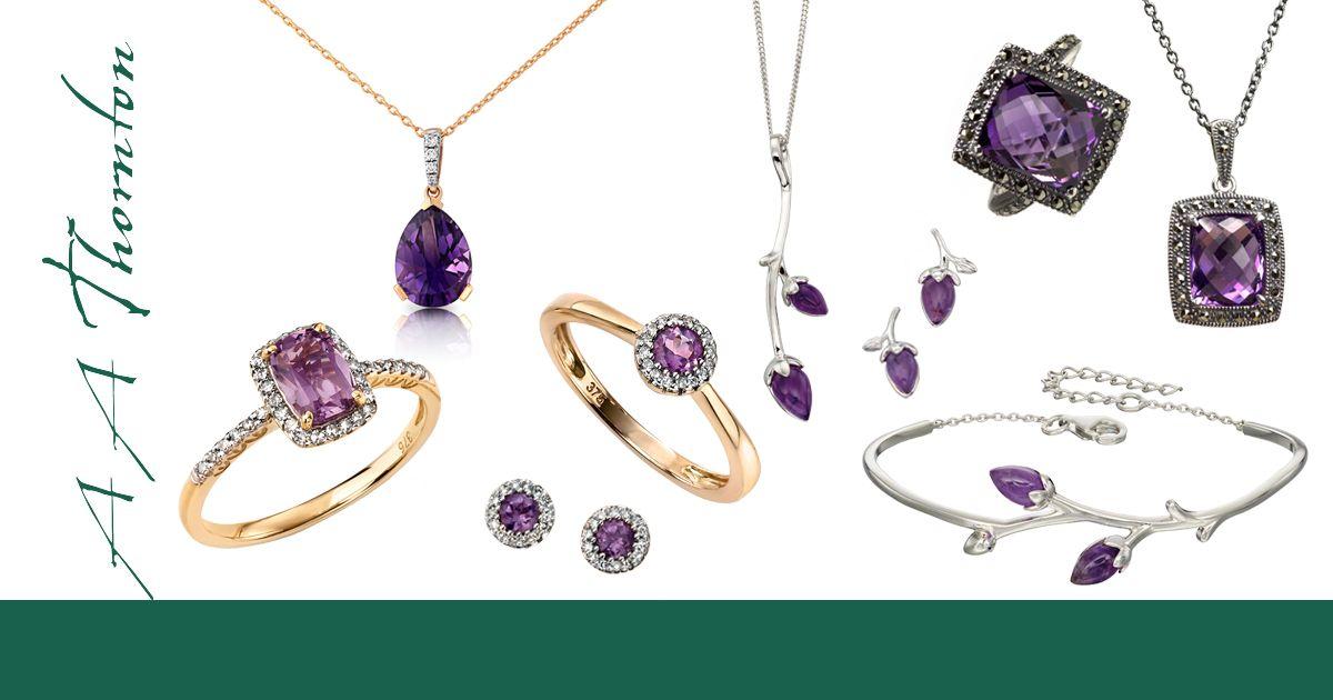 Sally's article on the Purple Gemstone Kaleidoscope from AA Thornton Kettering Northampton
