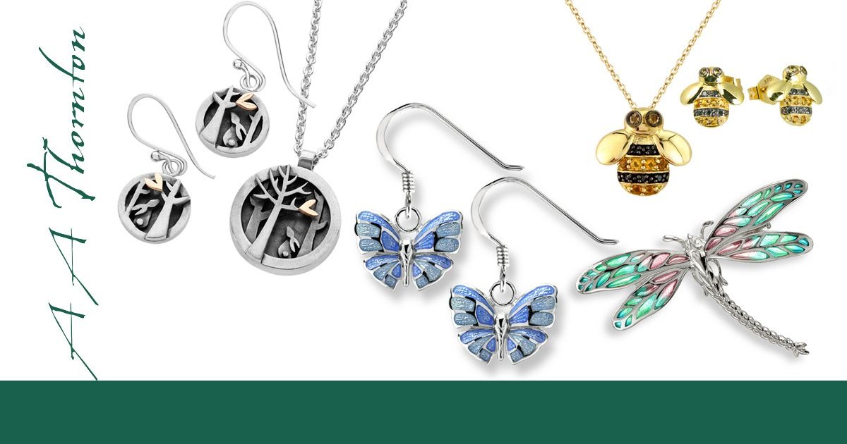 Sally's blog on the inspiration of Nature on jewellery design March 2019 AA Thornton Kettering
