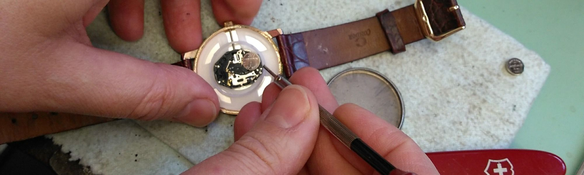 aa thornton watch battery and strap replacement