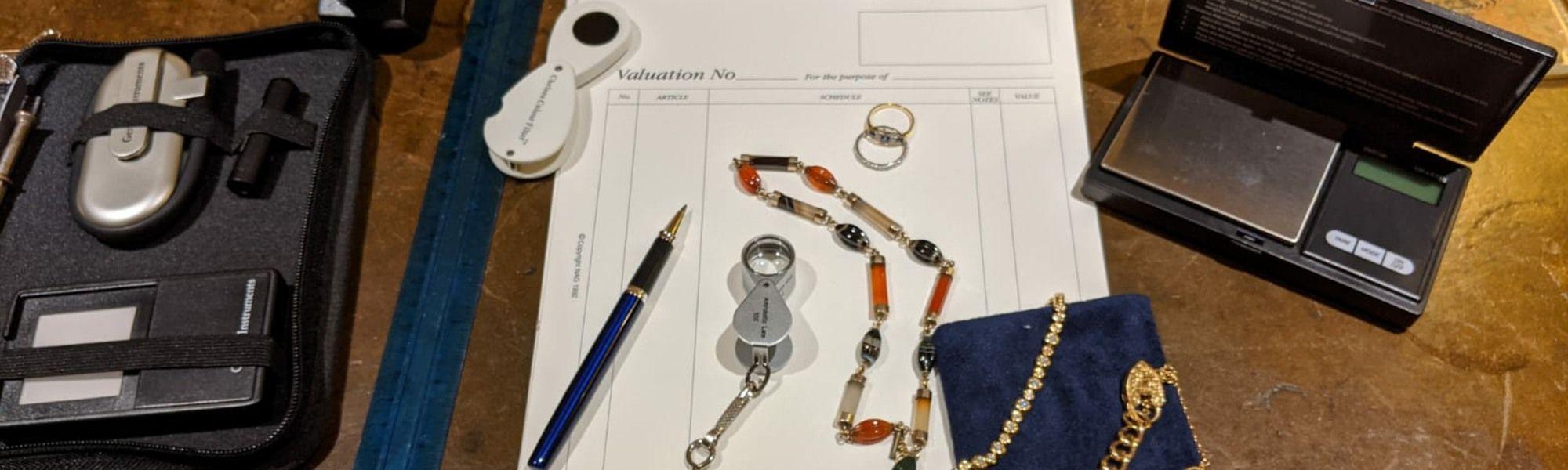 aa thornton jewellery insurance valuations