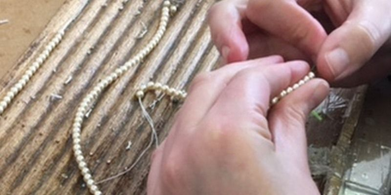 aa thornton jewellery restringing pearl necklace