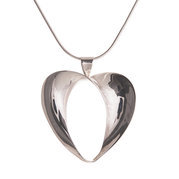 John Garland Taylor Florence heart pendant from AA Thornton Kettering Northampton Stamford Peterborough