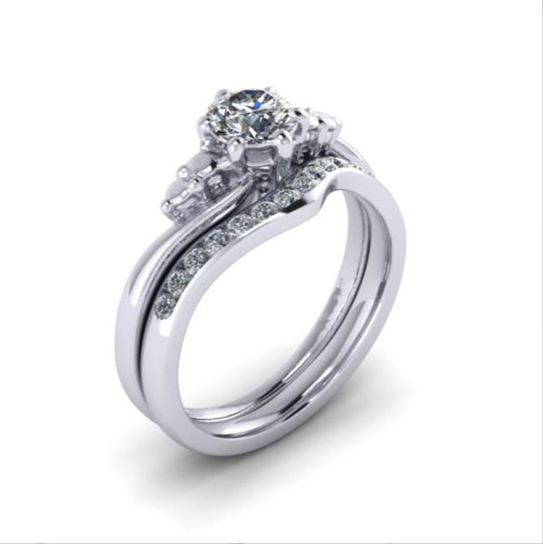 Made to fit wedding ring from AA Thornton Jeweller Kettering Northampton