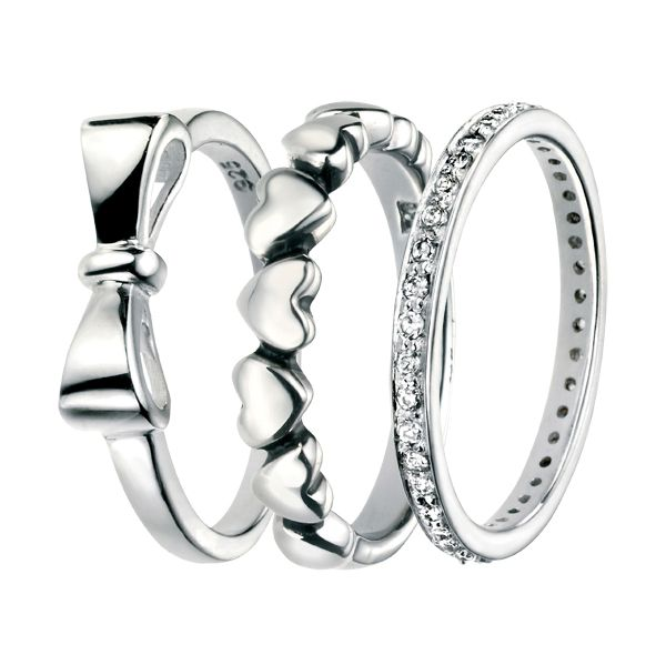 Silver dress rings from AA Thornton Kettering Northampton