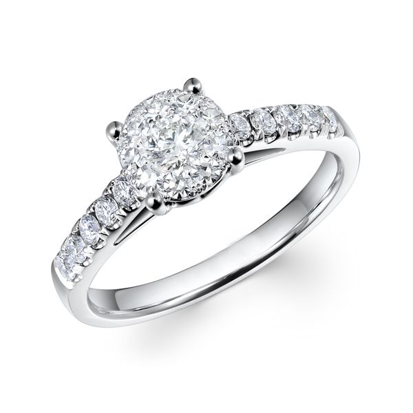 Diamond engagement ring from AA Thornton Jeweller Kettering Northampton