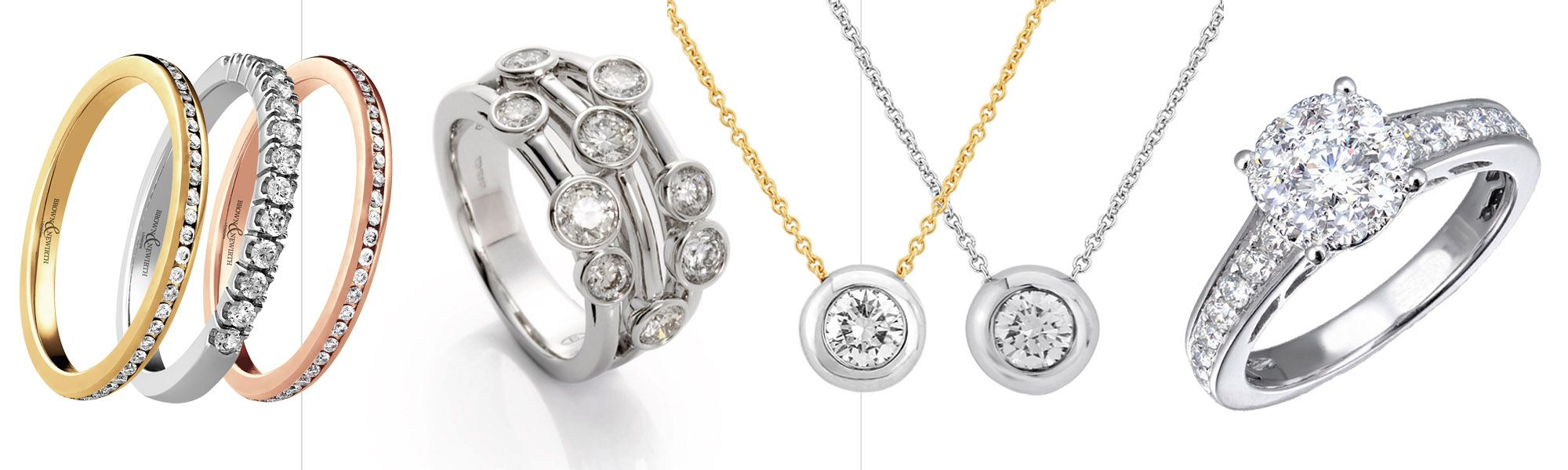 Diamond Jewellery Collections from Thorntons Jewellers Kettering Northampton