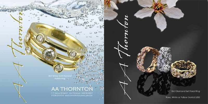 aa thornton jewellery collection diamond jewellery