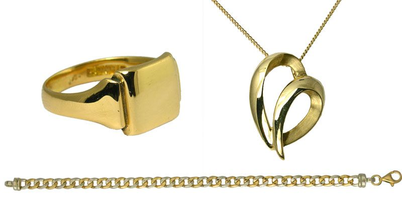 aa thorntons jewellers collection Gold Jewellery Ketttering Northampton