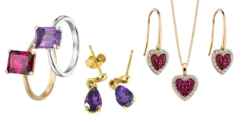 Gemstone Jewellery Collection from AA Thornton Jeweller Kettering Northampton