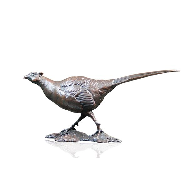 Bronze Limited edition pheasant from AA Thornton Jewellery Kettering Northampton
