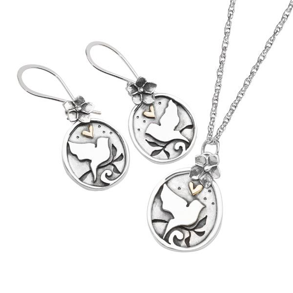 Starry night silver and 9ct gold drop earrings £113 & pendent on a chain £85 Sally Thornton Jewellery blog on flying inspiration at thorntons jewellers kettering northampton