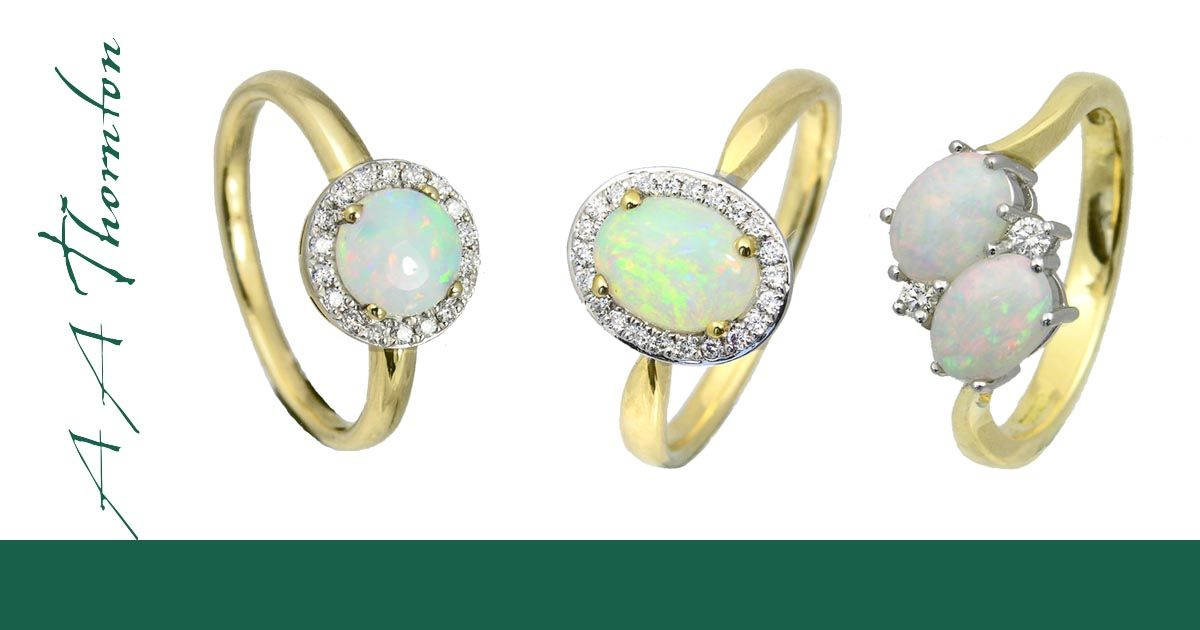 Sally Thornton Jewellery Blog on Opal from Thorntons Jewellers Kettering