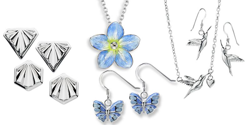 Silver Jewellery Collections from AA Thornton Jeweller Kettering Northampton