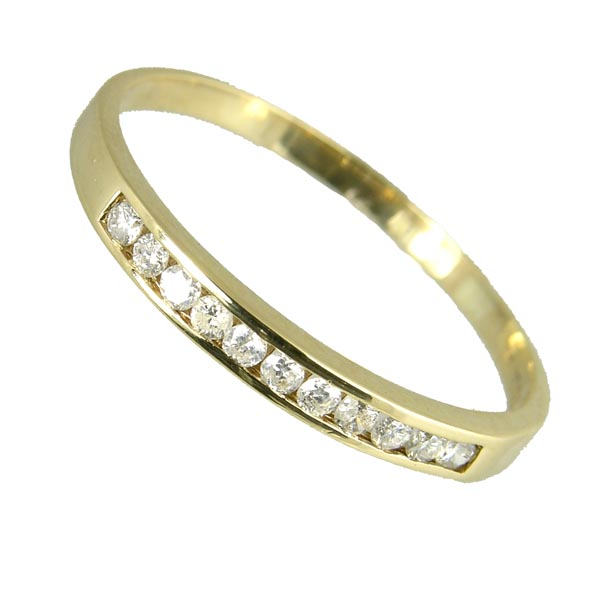 Pre loved98770 £325 Second Hand 9ct Diamond Half Eternity Ring from Thorntons Jewellers Jewellery Collection in Kettering Northampton