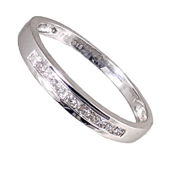 99318 £395 Second Hand 18ct WG Diamond Half Eternity Ring from Thorntons Jewellers Jewellery Collection in Kettering Northampton