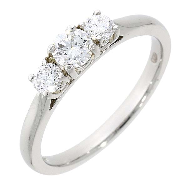Platinum 3 Stone Diamond Ring £2,250 ref 88412 from thornton jeweller diamond jewellery collection in Kettering Northampton