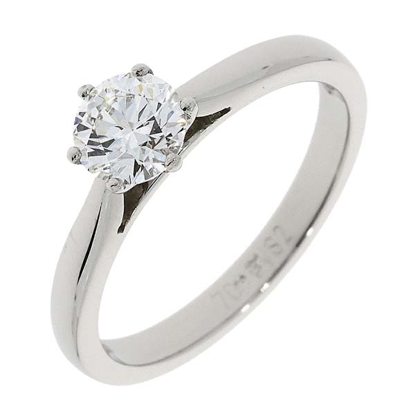 Platinum Single Stone certificated diamond ring 98706 £5250 from thornton jeweller diamond jewellery collection in Kettering Northampton