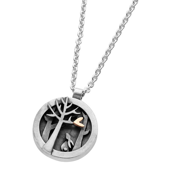 Woodland Collection pendant Sally Thorntons jewellery blog on Linda Macdonald from AA Thornton Kettering Northampton