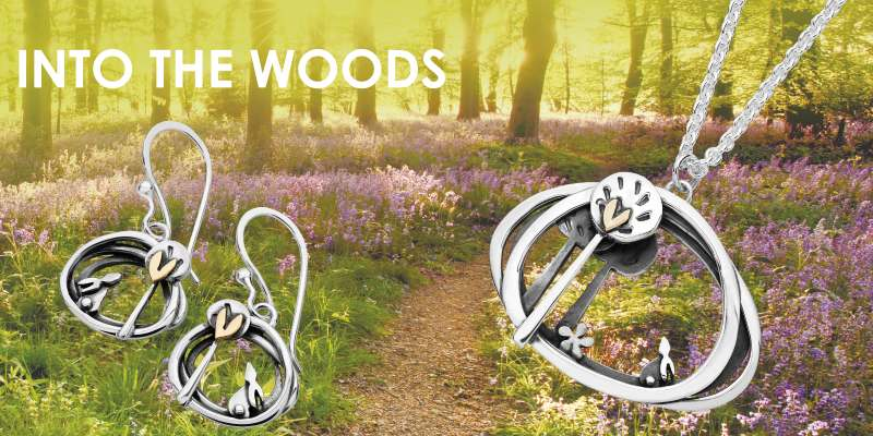 into the woods pendant raffle prize from AA Thornton Kettering Northampton