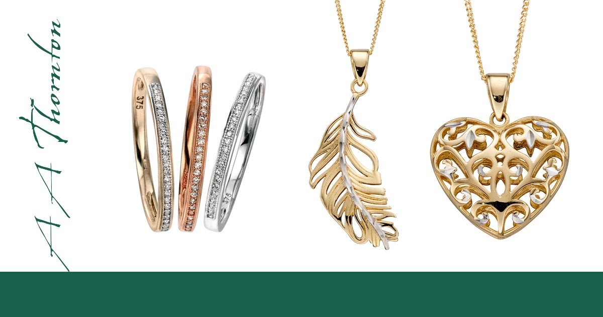 Mix & Match on Sally Thornton jewellery blog from Thorntons Jewellers Kettering Northampton