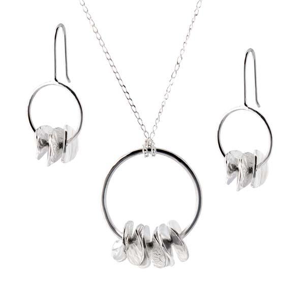 Sally Thorntons jewellery blog on Chris Lewis from AA Thornton Jeweller in Kettering Northampton Cairn circle pendant & earrings