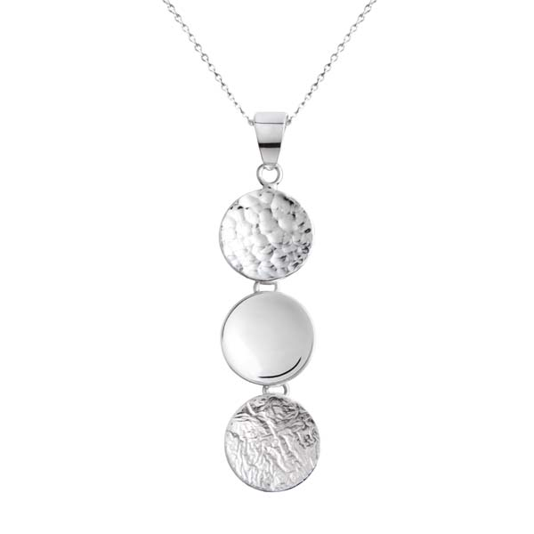 Sally Thorntons jewellery blog on Chris Lewis from AA Thornton Jeweller in Kettering Northampton Circles pendant £70