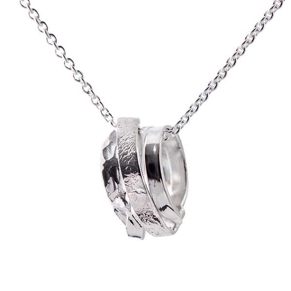 Sally Thorntons jewellery blog on Chris Lewis from AA Thornton Jeweller in Kettering Northampton Wound pendant £53