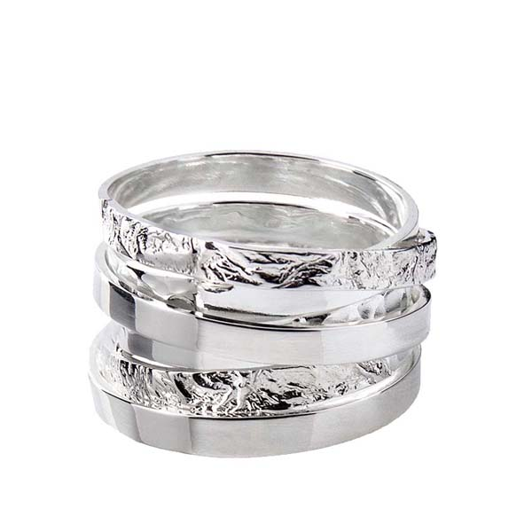 Sally Thorntons jewellery blog on Chris Lewis from AA Thornton Jeweller in Kettering Northampton Wound ring from £65