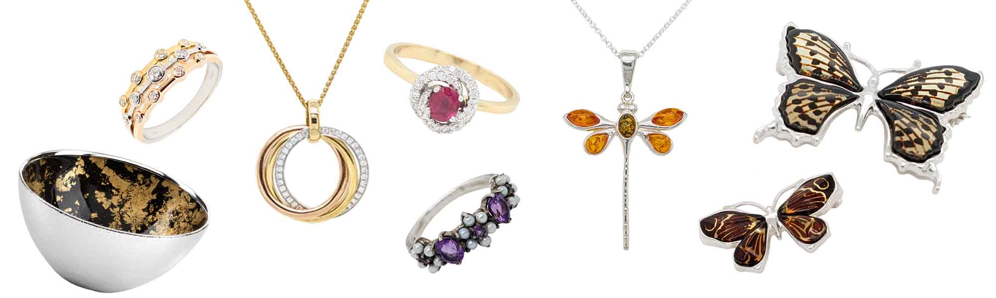 Banner Sally Thorntons Jewellery blog on Christmas gift ideas from Thornton Jewellers Kettering Northampton