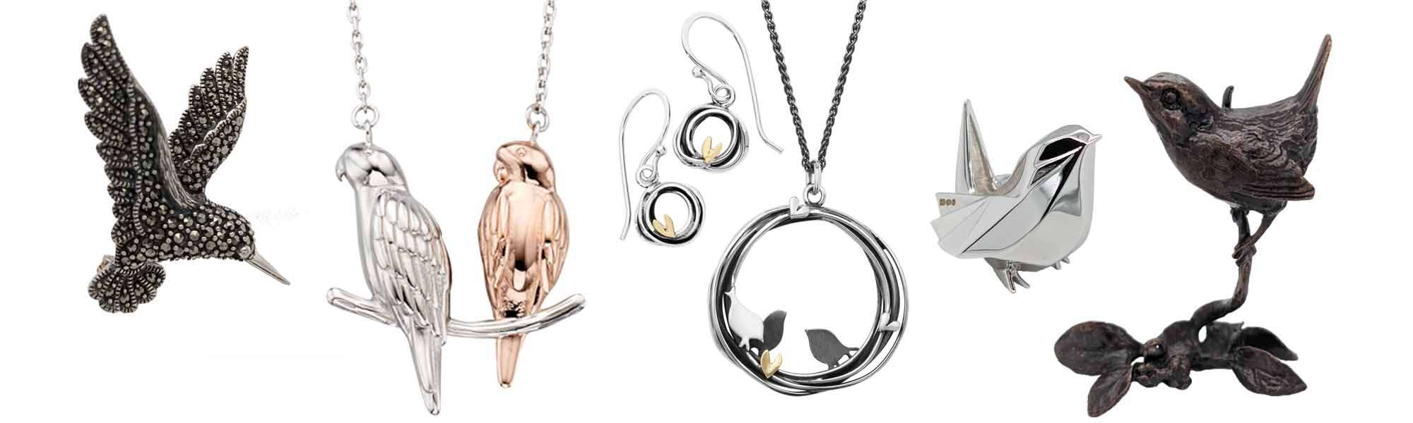 Sally Thornton jewellers blog on bird jewellery fromThorntons jewellers Kettering Northampton