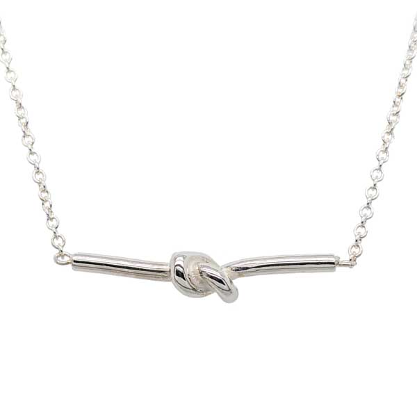 Knot Bar Necklet £35 ref 101489 from Sally Thornton Jewellery Blog on Knots from  Thorntons Jewellers Kettering Northampton
