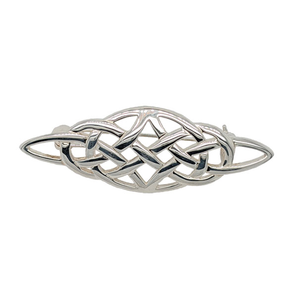 Silver celtic brooch £36 from Sally Thornton Jewellery Blog on Knots from Thorntons Jewellers Kettering Northampton