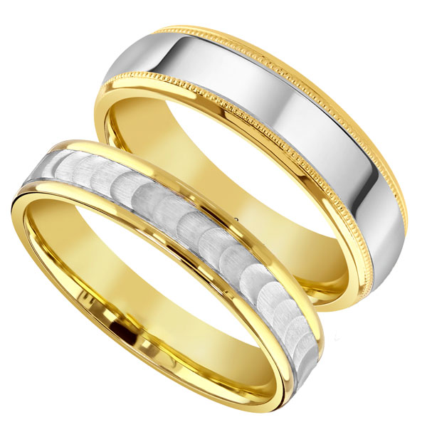 Gents bicolour  from Sally Thornton jewellery blog on Wedding Rings at Thorntons Jewellers Kettering Northampton