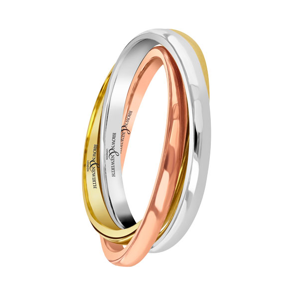 Russian tri colour wedding ring from Sally Thornton jewellery blog on Wedding Rings at Thorntons Jewellers Kettering Northampton