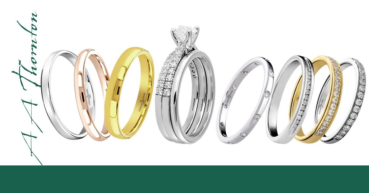 Sally Thornton jewellery blog on Wedding Rings at Thorntons Jewellers Kettering Northampton