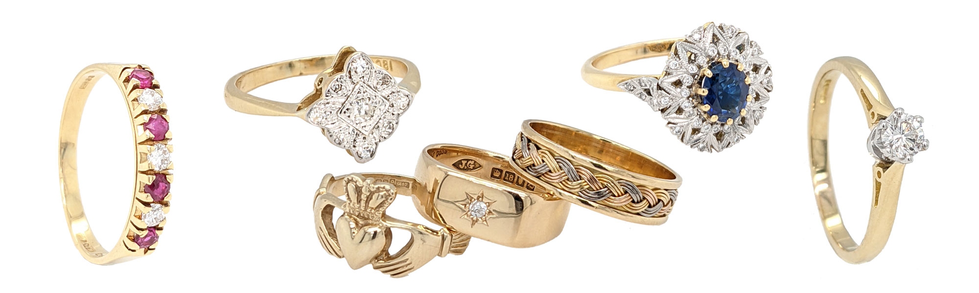 Jewellery blog by Sally Thornton for Thorntons Jewellers Kettering Northampton Pre loved rings Banner