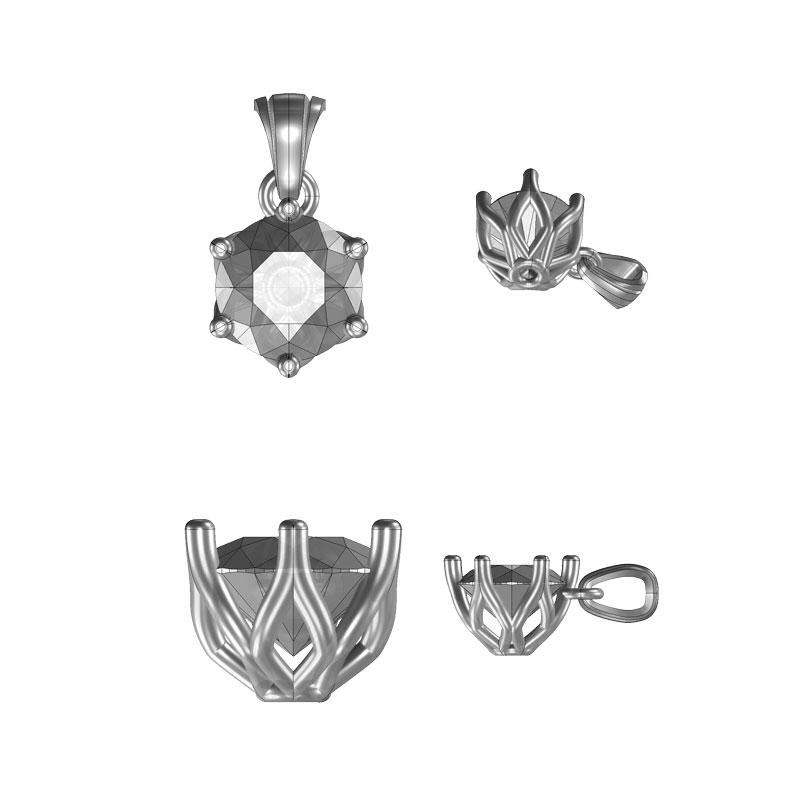 Initial drawings for diamond pendant design Sally Thorntons Jewellery blog on Design from Thornton Jeweller Kettering Northampton